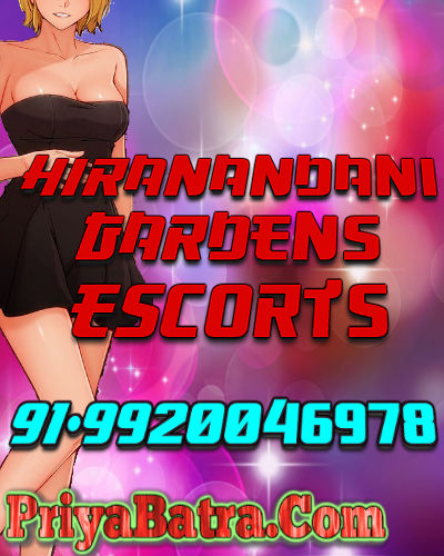 All Type Escorts Service in Hiranadani GardensSexy Escorts Girl in Hiranandani Gardens